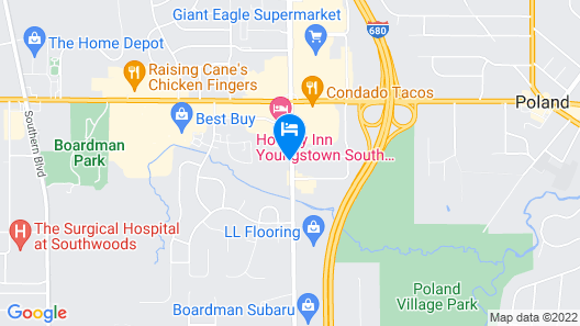 Holiday Inn Youngstown South Map