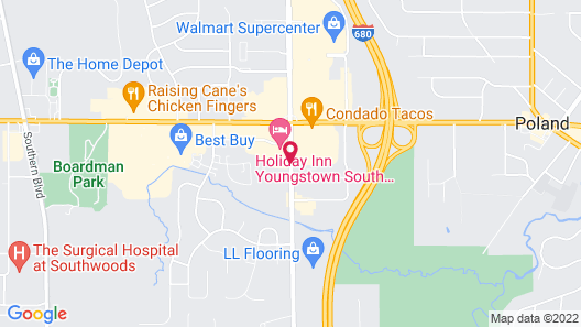 Days Inn & Suites by Wyndham Boardman Map