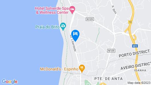 São Félix Seaside Oasis Map