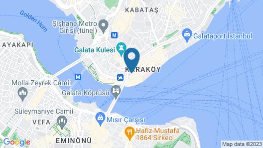 Peninsula Galata Boutique Hotel Map