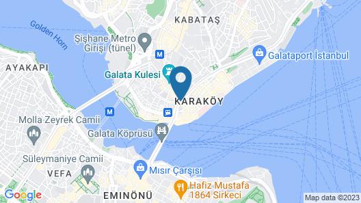 10 Karakoy Istanbul Map