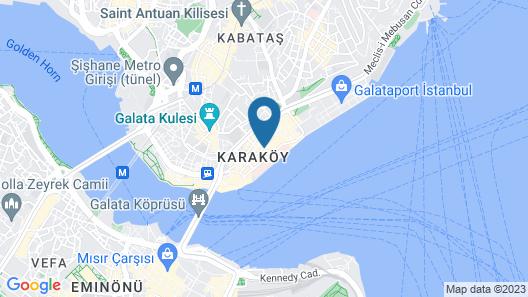 JW Marriott Istanbul Bosphorus Map