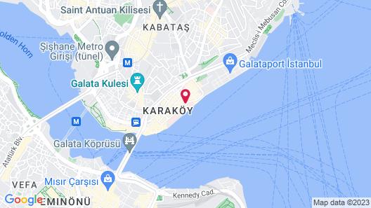 Novotel Istanbul Bosphorus Map