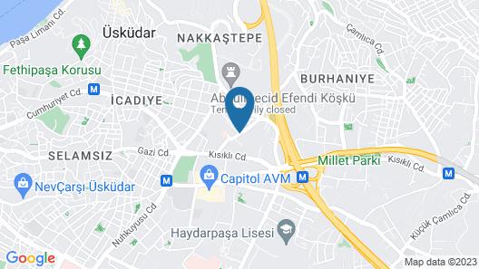 Holiday Inn Express Istanbul Altunizade, an IHG Hotel Map