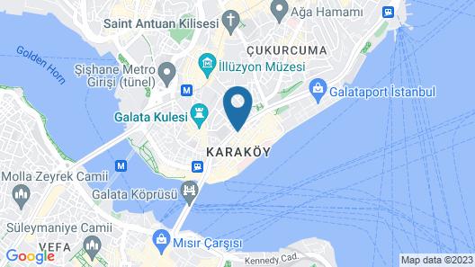 Karakoy VAV Suites Map
