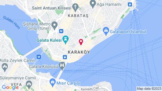 Sherry Suites Karaköy Map