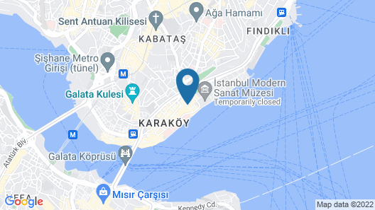 Maproom Boutique Hotel Map