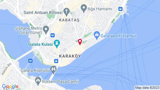 Port Hotel Tophane-i Amire Map