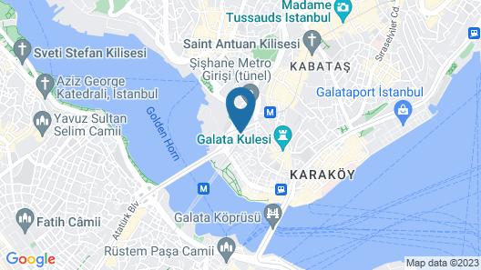 Doruk Palas Hotel Map