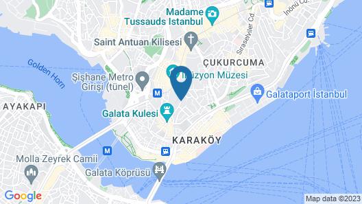Meroddi Galata Mansion Map