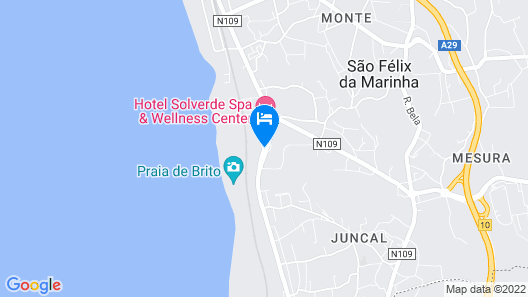 Hotel Solverde Spa & Wellness Center Map