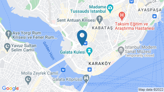 Galata Times Boutique Hotel Map