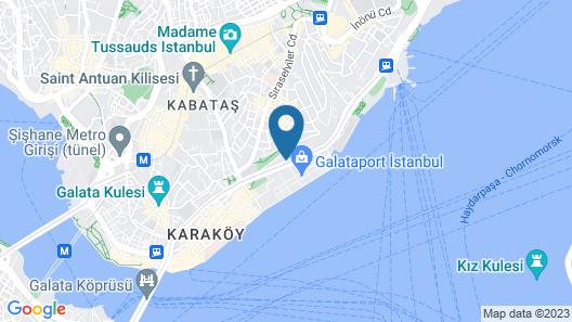 Port Bosphorus Hotel Map