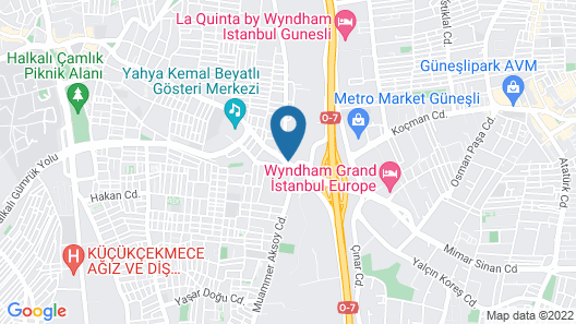 Courtyard by Marriott Istanbul West Map