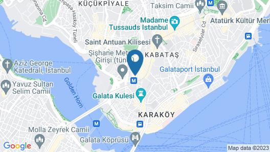 The Pera Hotel Map