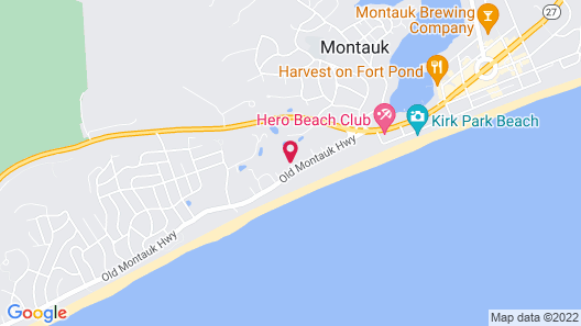 Beachcomber at Montauk Map