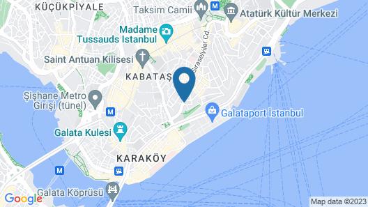 Witt Istanbul Hotel Map