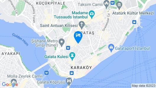 Stories Hotel Kumbaracı Map