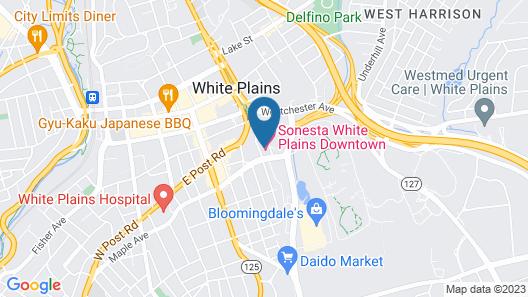 Sonesta White Plains Map