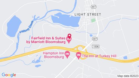 Fairfield Inn & Suites by Marriott Bloomsburg Map