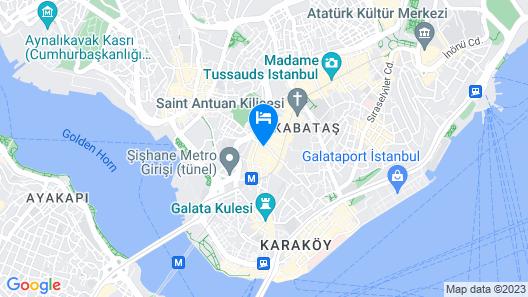 Hotel Devman Map