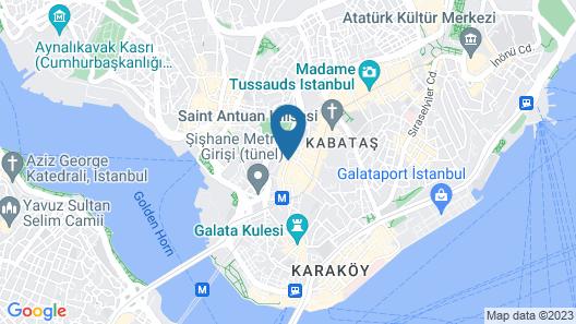 Soho House Istanbul Map