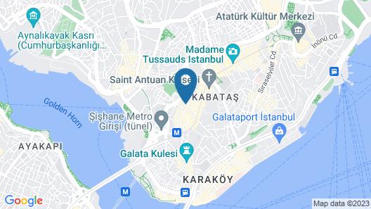 The Marmara Pera Map