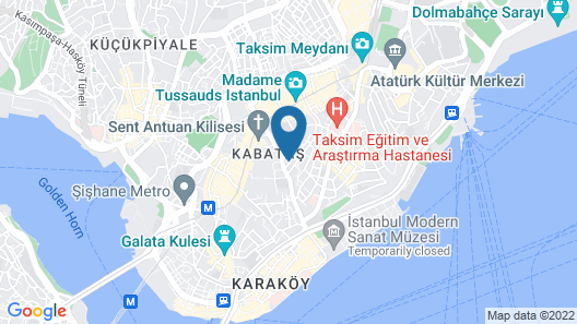 Paxx Istanbul Hotel & Hostel - Adults Only Map