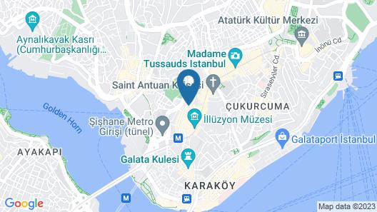 The Peak Hotel Map