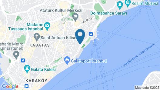 Zimmer Bosphorus Hotel Map
