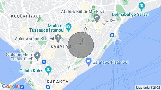 Apartment for Rent in Istanbul/cihangir Map