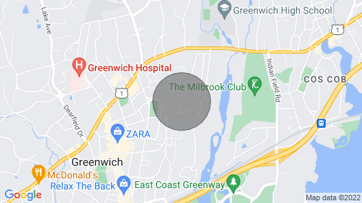 Downtown Greenwich Sanctuary With Pool / Private Gardens - Summer/annual Rental Map
