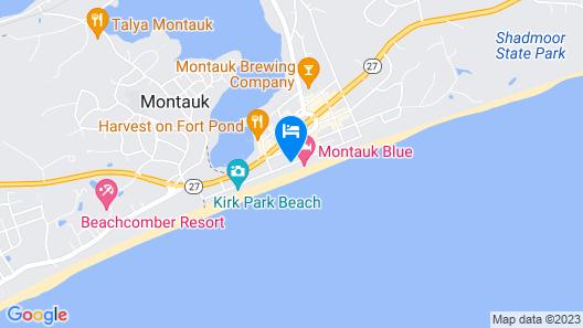 Ocean Resort Inn Map