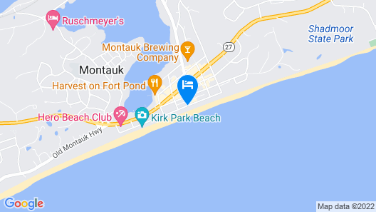 Born Free Suites by the Sea Map