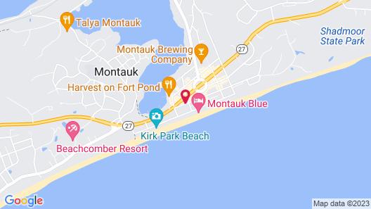 Aqualina Inn Montauk Map