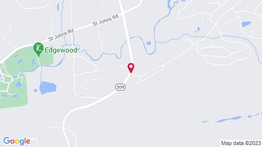 Crown Resorts at the Poconos Map