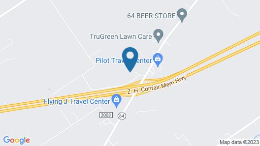 Quality Inn Mill Hall - Lamar Map