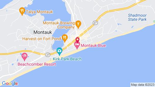 Daunt's Albatross Motel Map