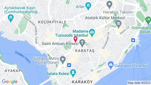 Rixos Pera Istanbul Map