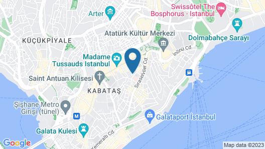 Taksim Taila Apartments No 3 Map
