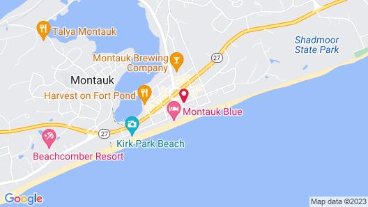 The Montauk Beach House Map