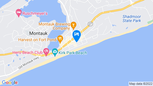 The Montauk Beach House Map