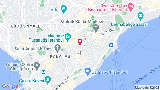 City Center Hotel Taksim Map