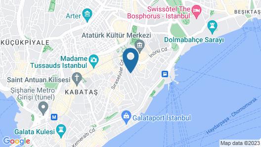 Levanten Hostel Map