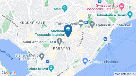 Burj Al Istanbul Map