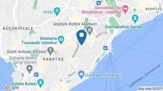 Style Star Hotel Cihangir Map