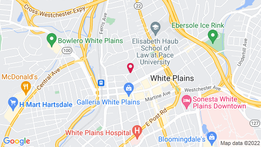 Residence Inn by Marriott White Plains Westchester County Map