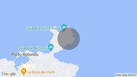 Punta Volpe Pieds Dans L'eau R&R Map