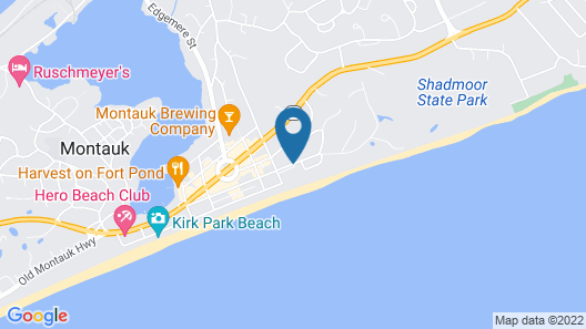 The Surf Club Map