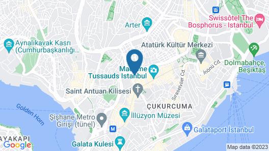Stay Inn Taksim Hostel Map